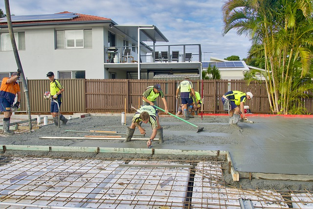 Concrete Sealing workers
